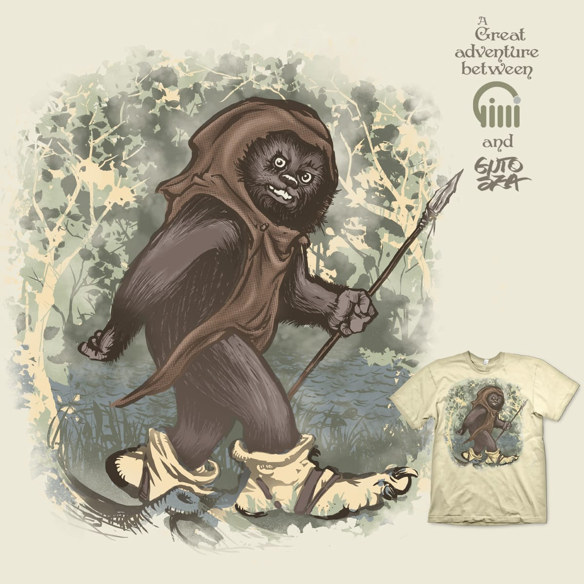 Little creature, big troll! by opippi and GUTO_SZA on Threadless