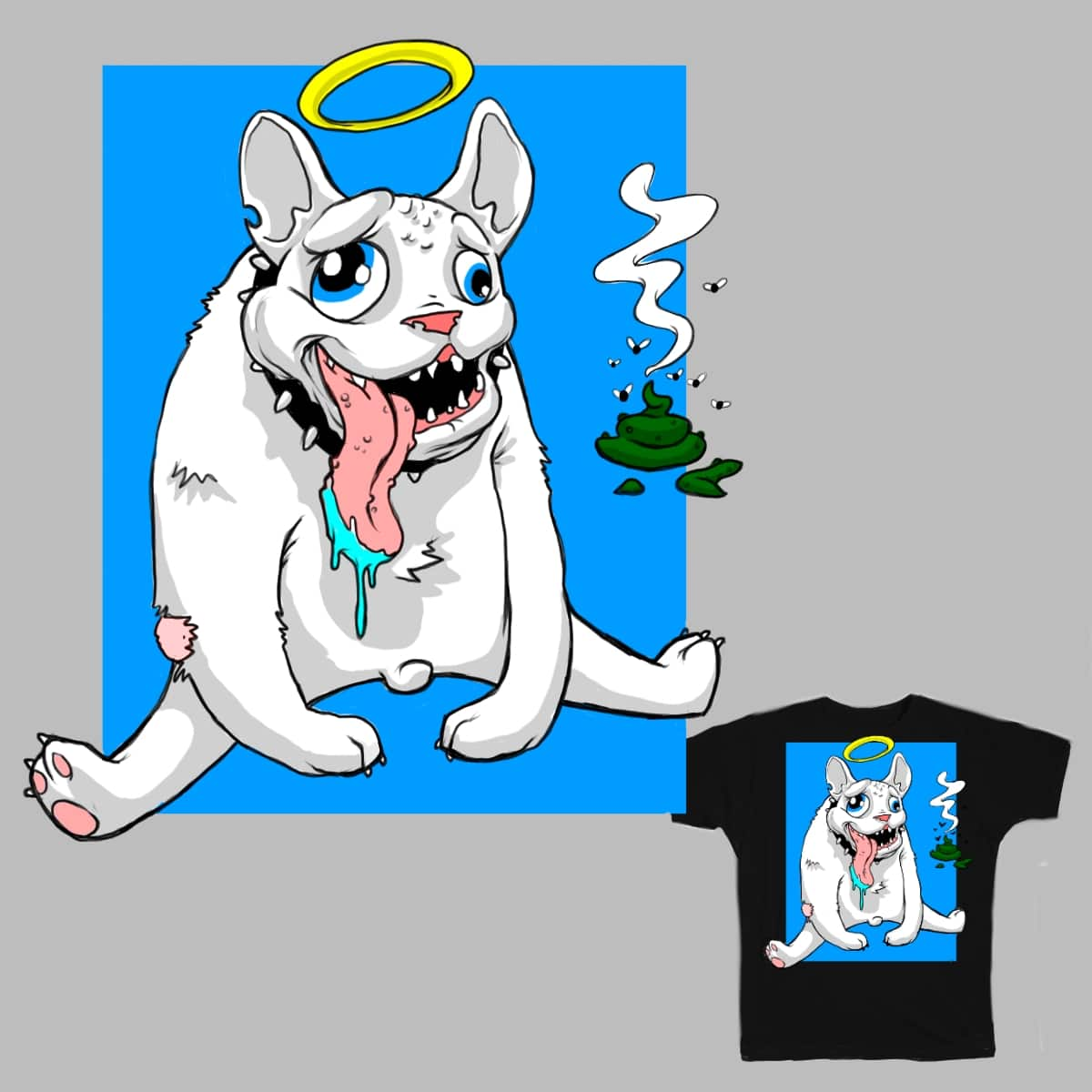 good doggy by godzillaeater15 on Threadless