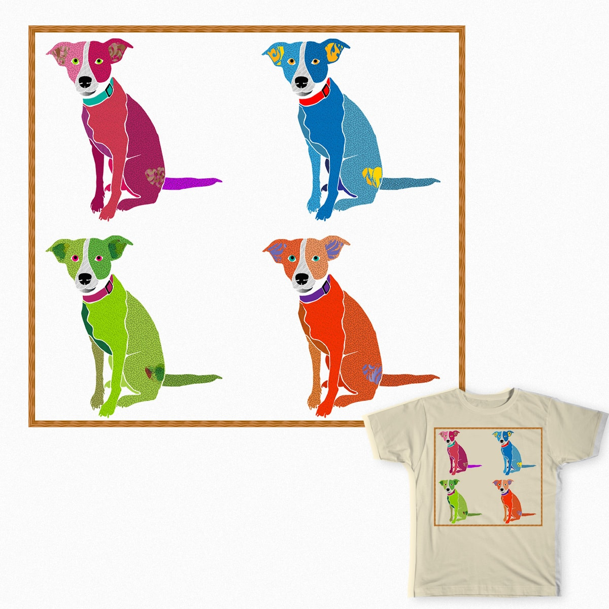 Pop Art Pipers by Kelly.Boyer.Brookshire on Threadless