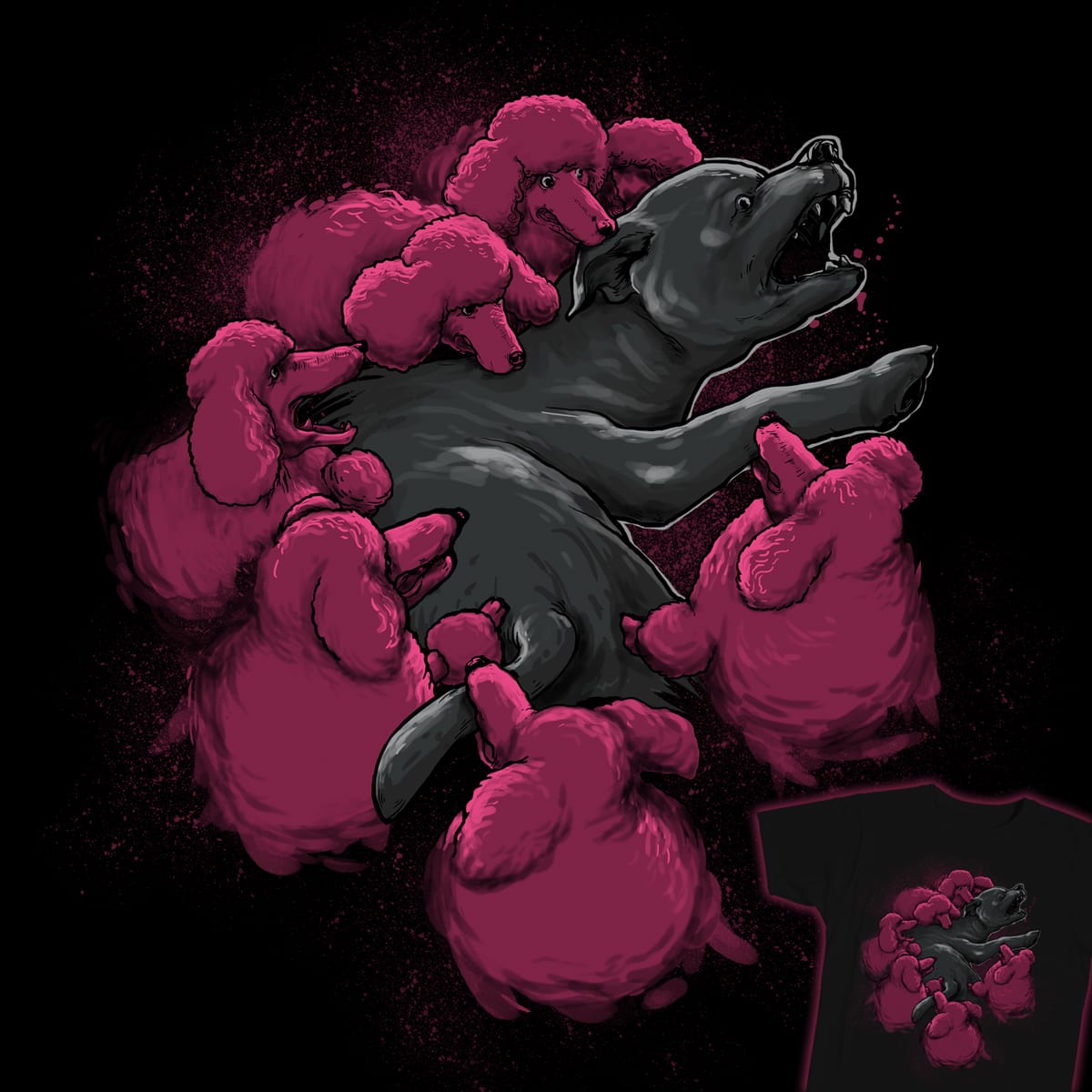PINK MARTINIS by RGRLV and ourgraphicfaith on Threadless