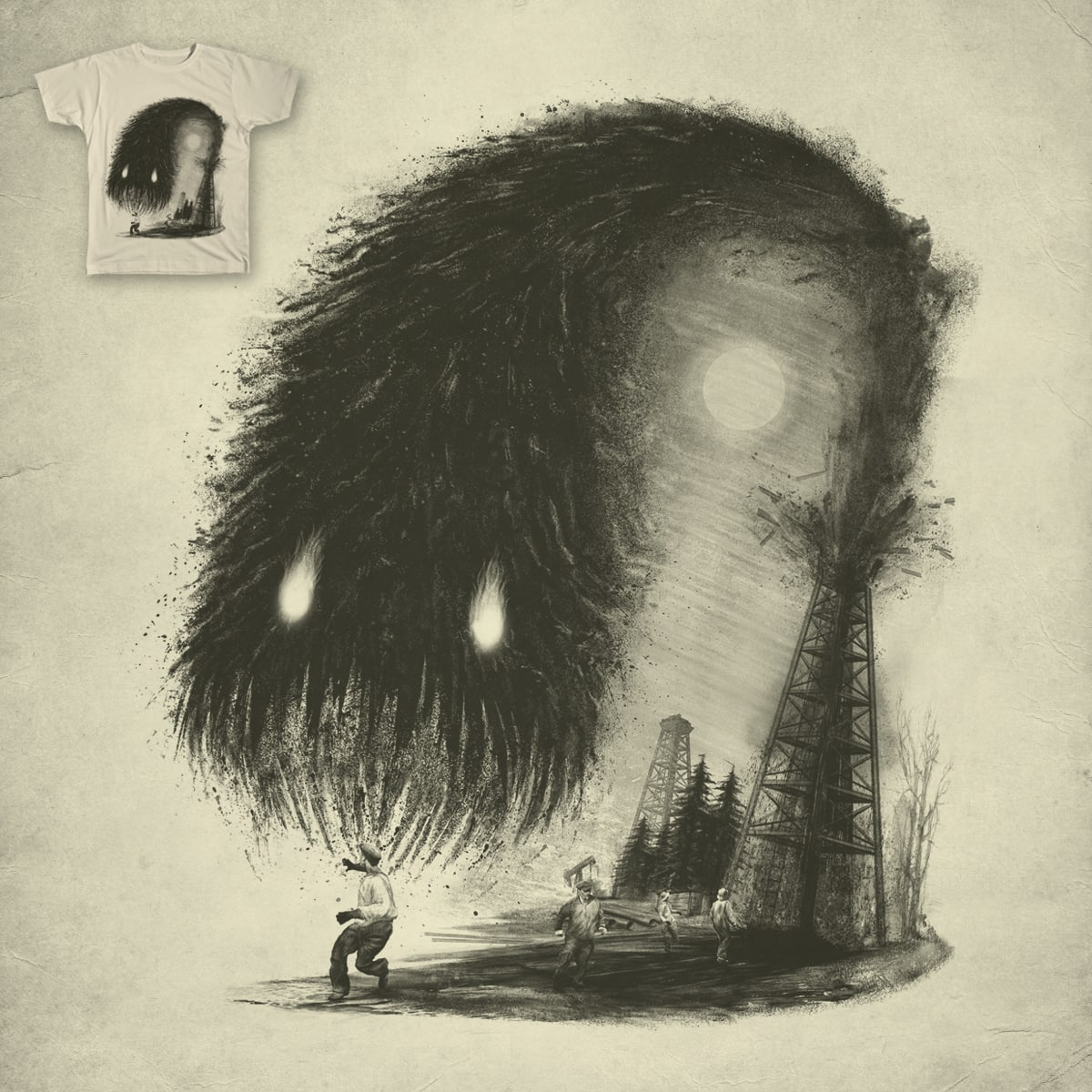 Awakened by FRICKINAWESOME and GRANDR on Threadless