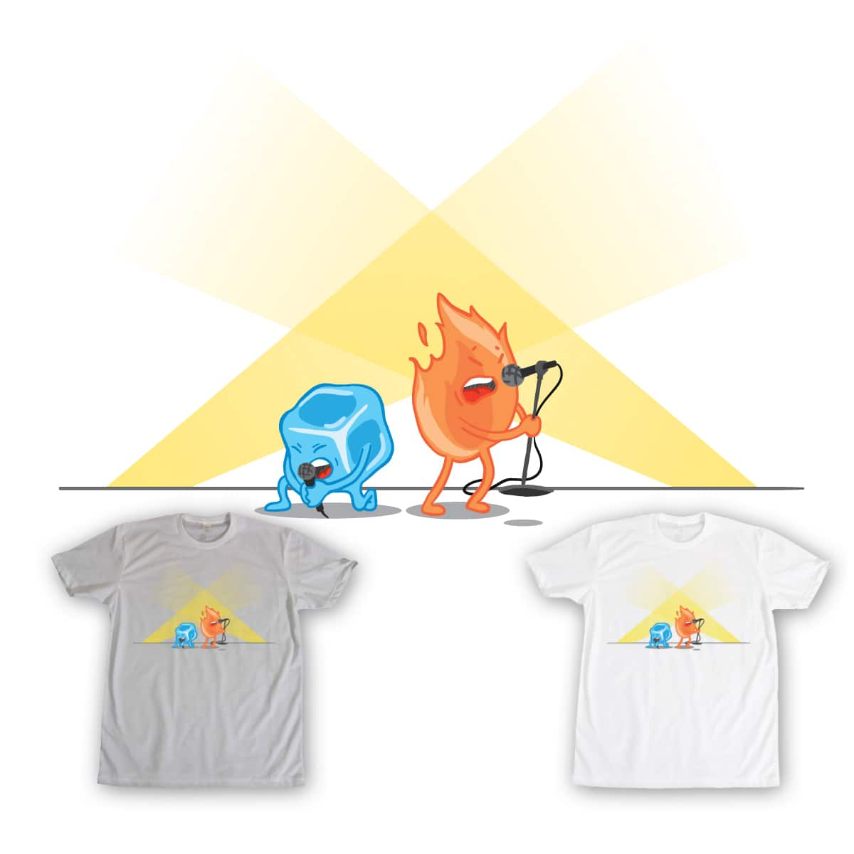 A Song of Ice and Fire by AjaxTheOne on Threadless