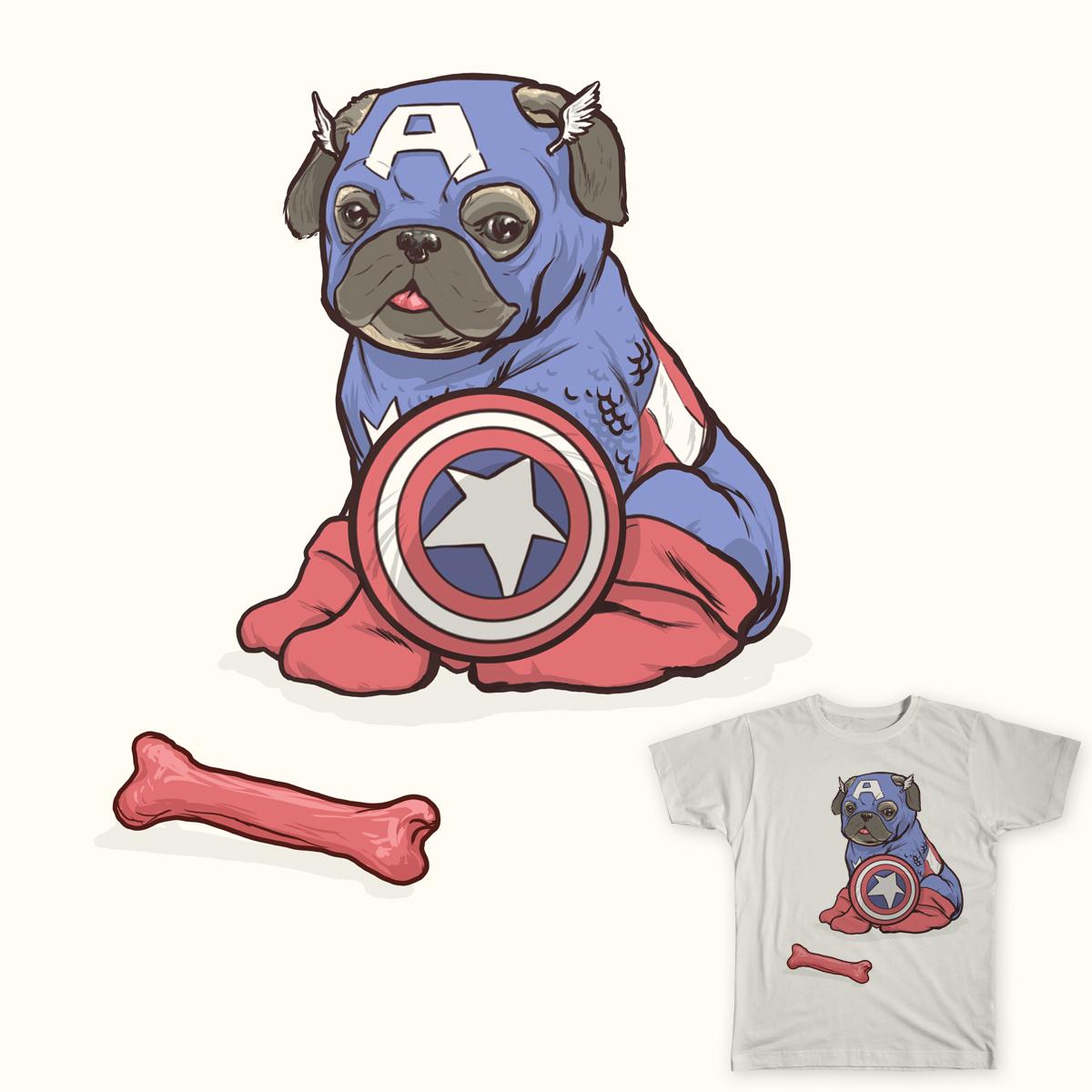 All American Dog by Josh_Sketchy on Threadless