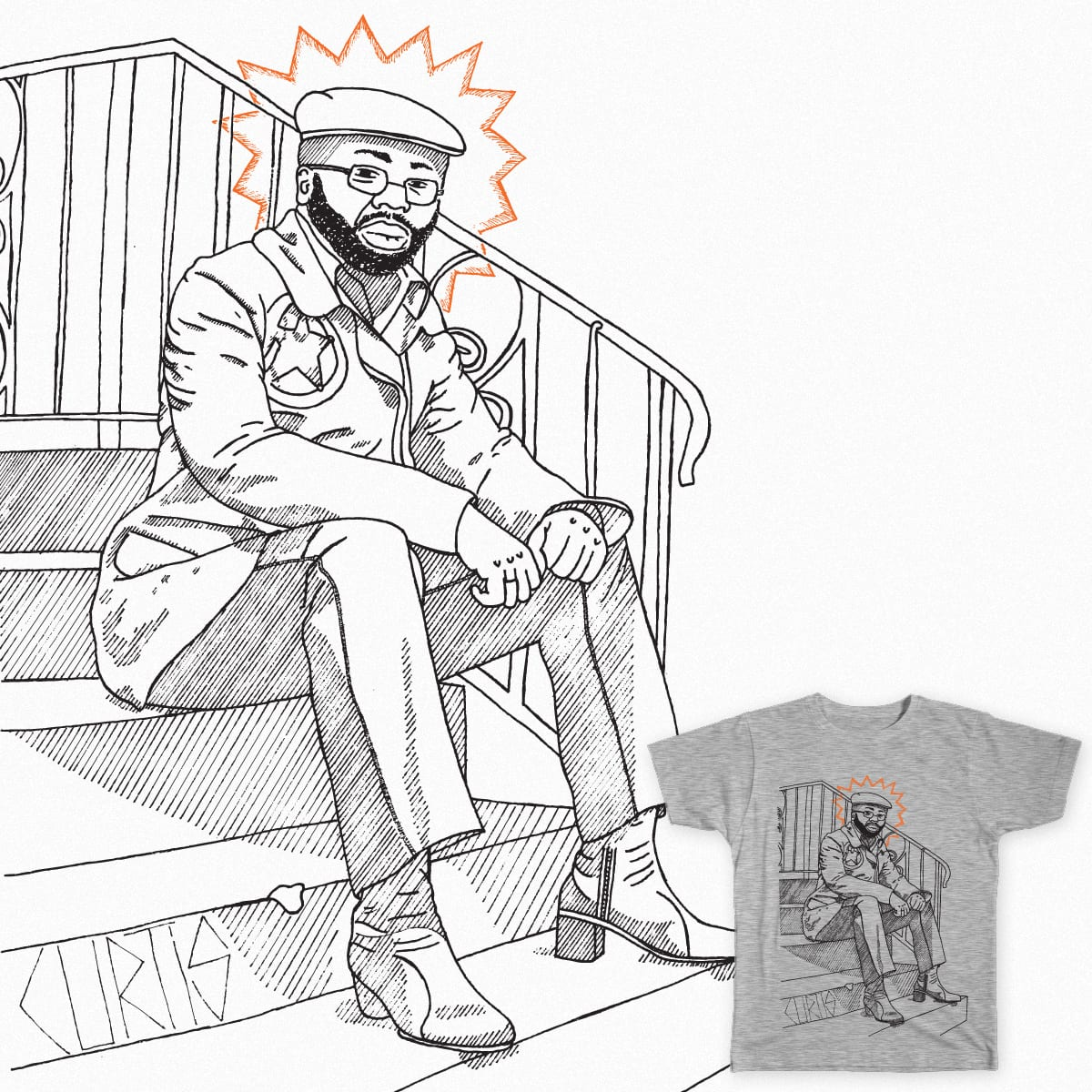 Curtis by polobpolo on Threadless