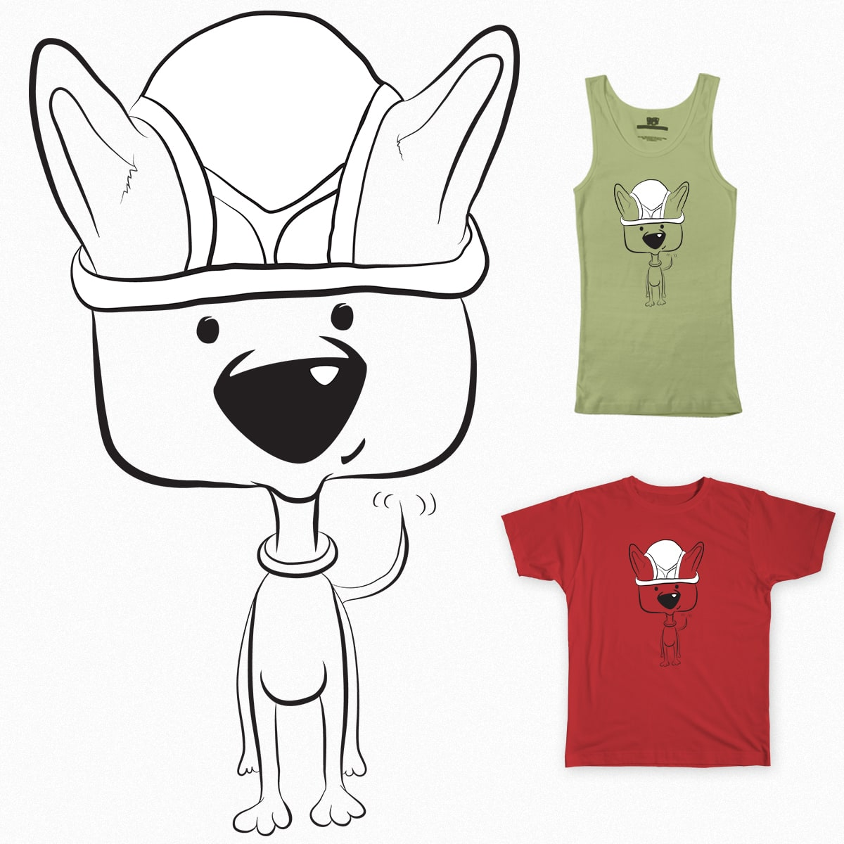 Y-Front Puppy by Astrovix on Threadless
