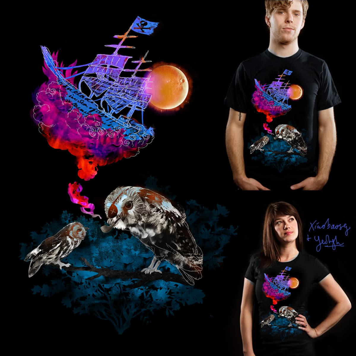 Untold Stories by yeohgh and xiaobaosg on Threadless