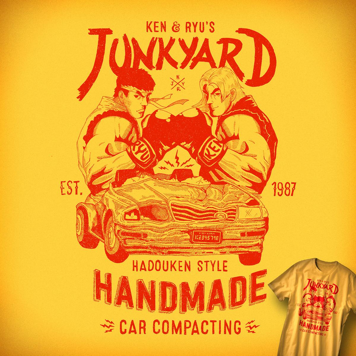 Ken & Ryu's Junkyard by Santo76 on Threadless