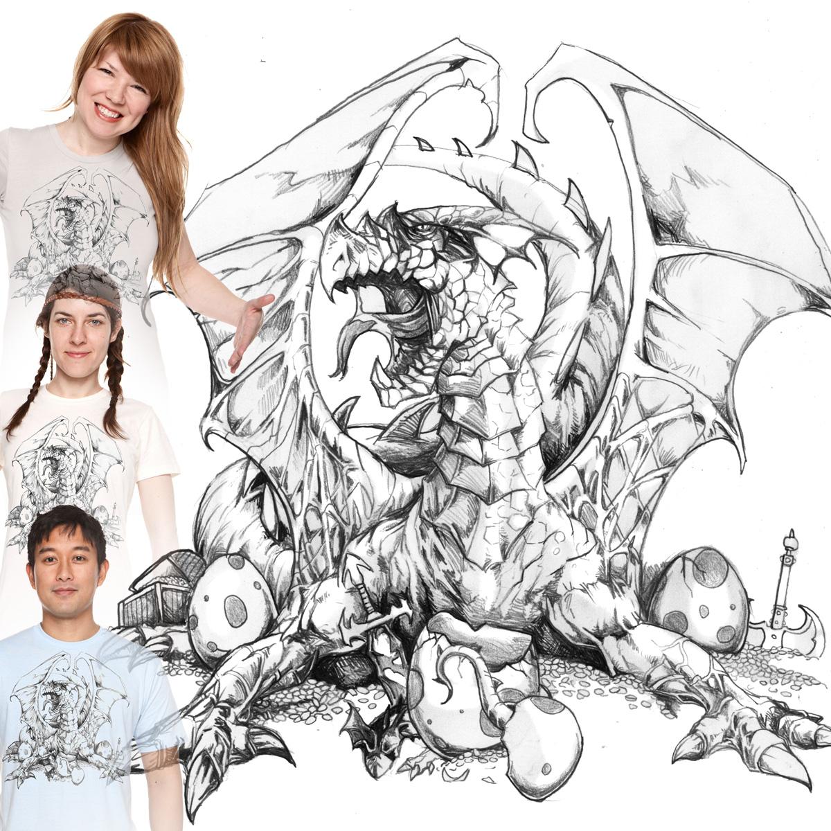Dragon Guard  by jbkinz on Threadless