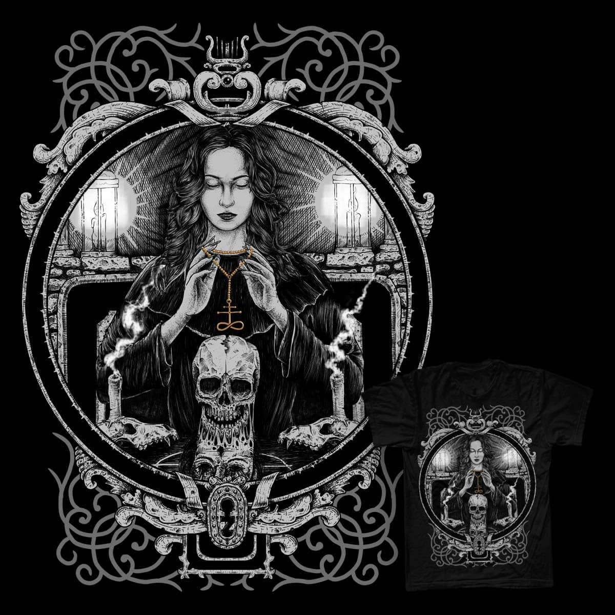 Whisper of the Witch by BhayuAka on Threadless