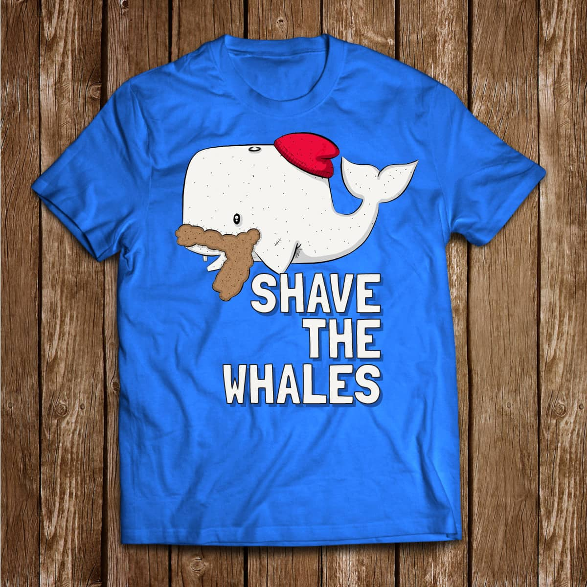 Shave The Whales by curtis.cunningham2 on Threadless