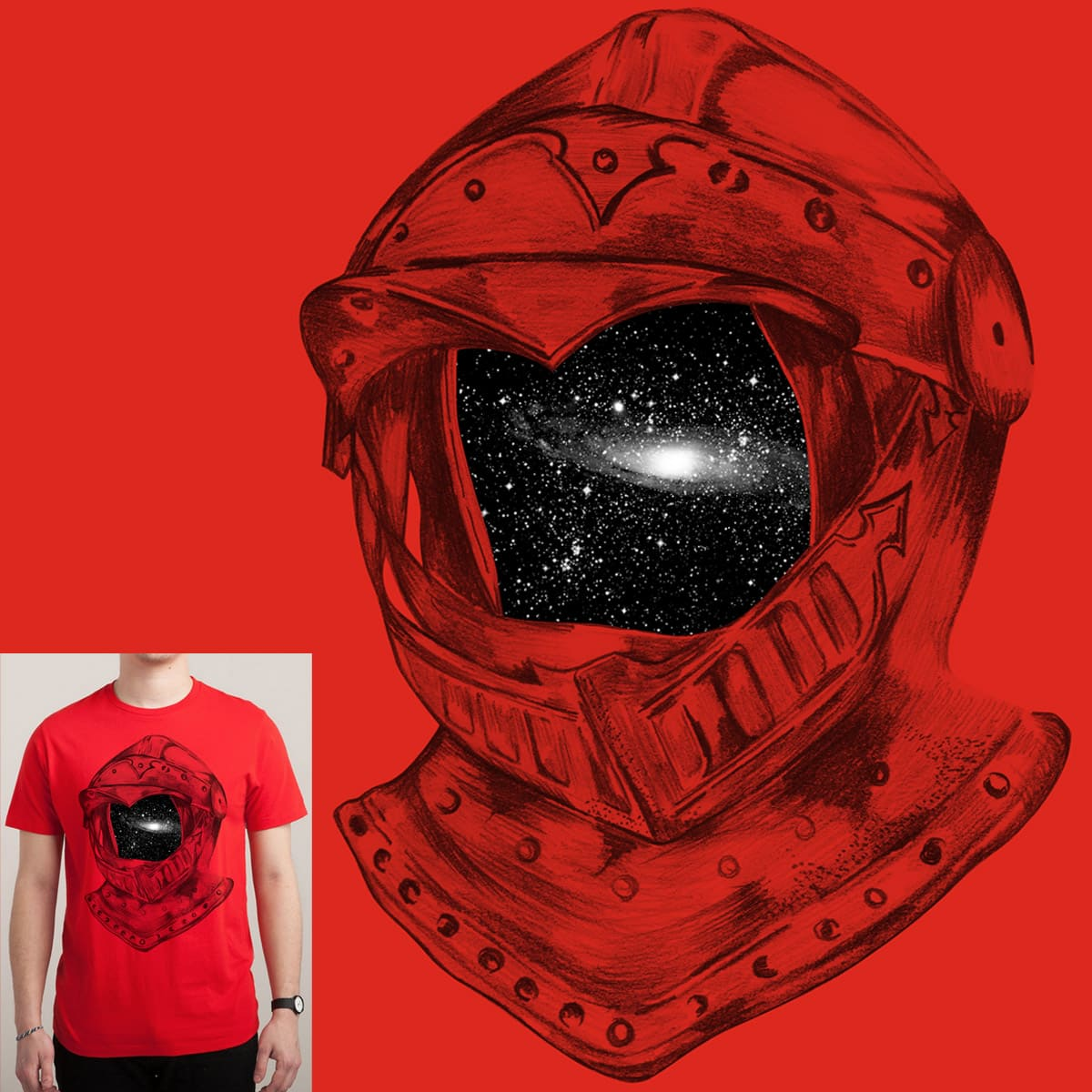 The Red Knight by mainial on Threadless