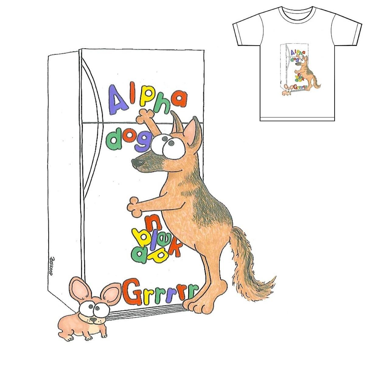 Alphabet Dog by Cbad-Designs on Threadless