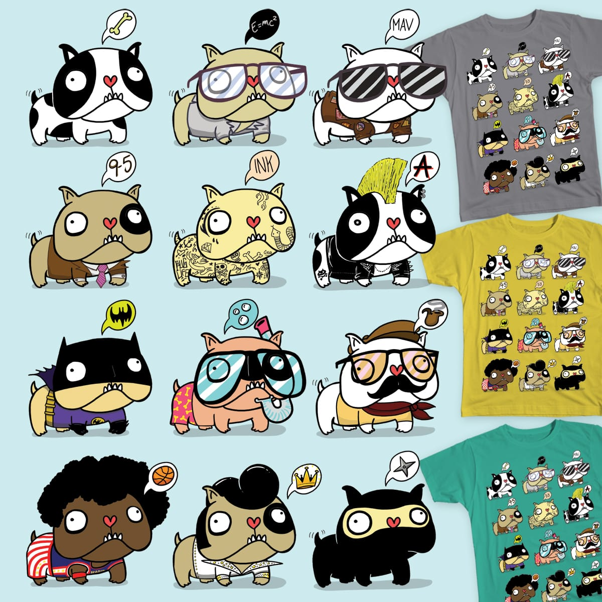 MULTIDOGS by Surfender on Threadless