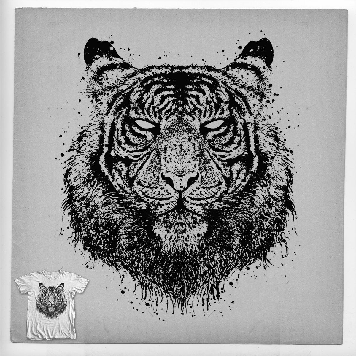 Tiger gaze by barmalisiRTB on Threadless