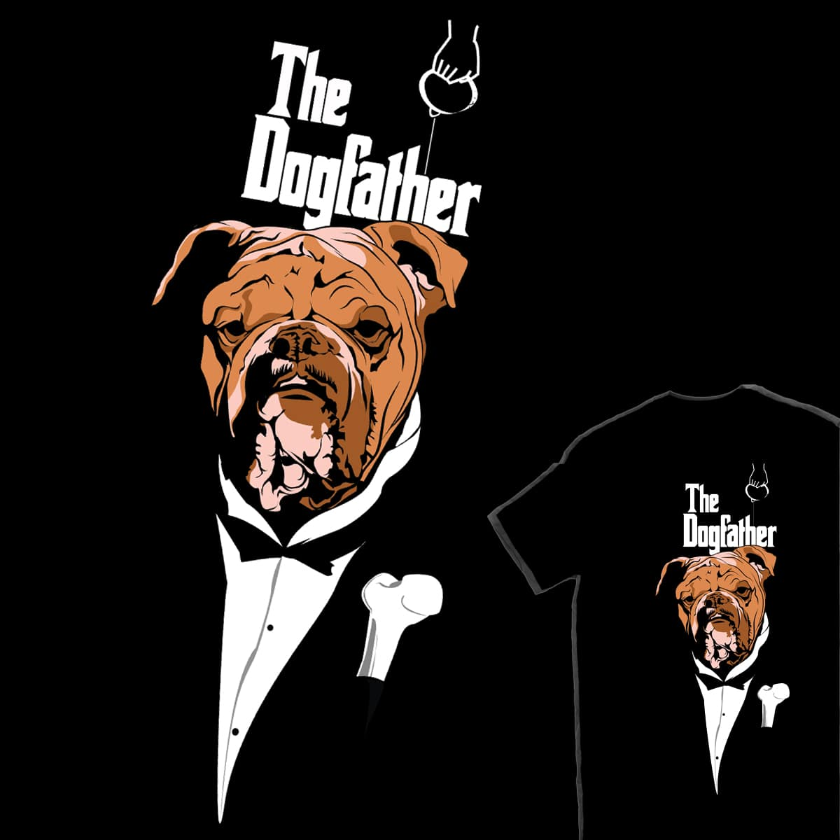 The Dogfather by PopeCastro on Threadless