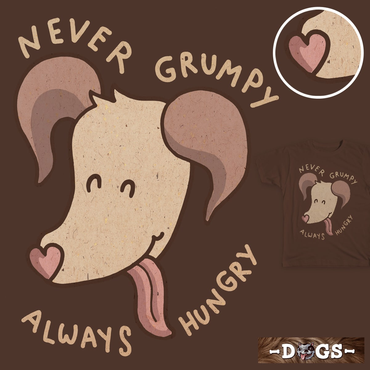 never grumpy_always hungry by Ri7Li on Threadless