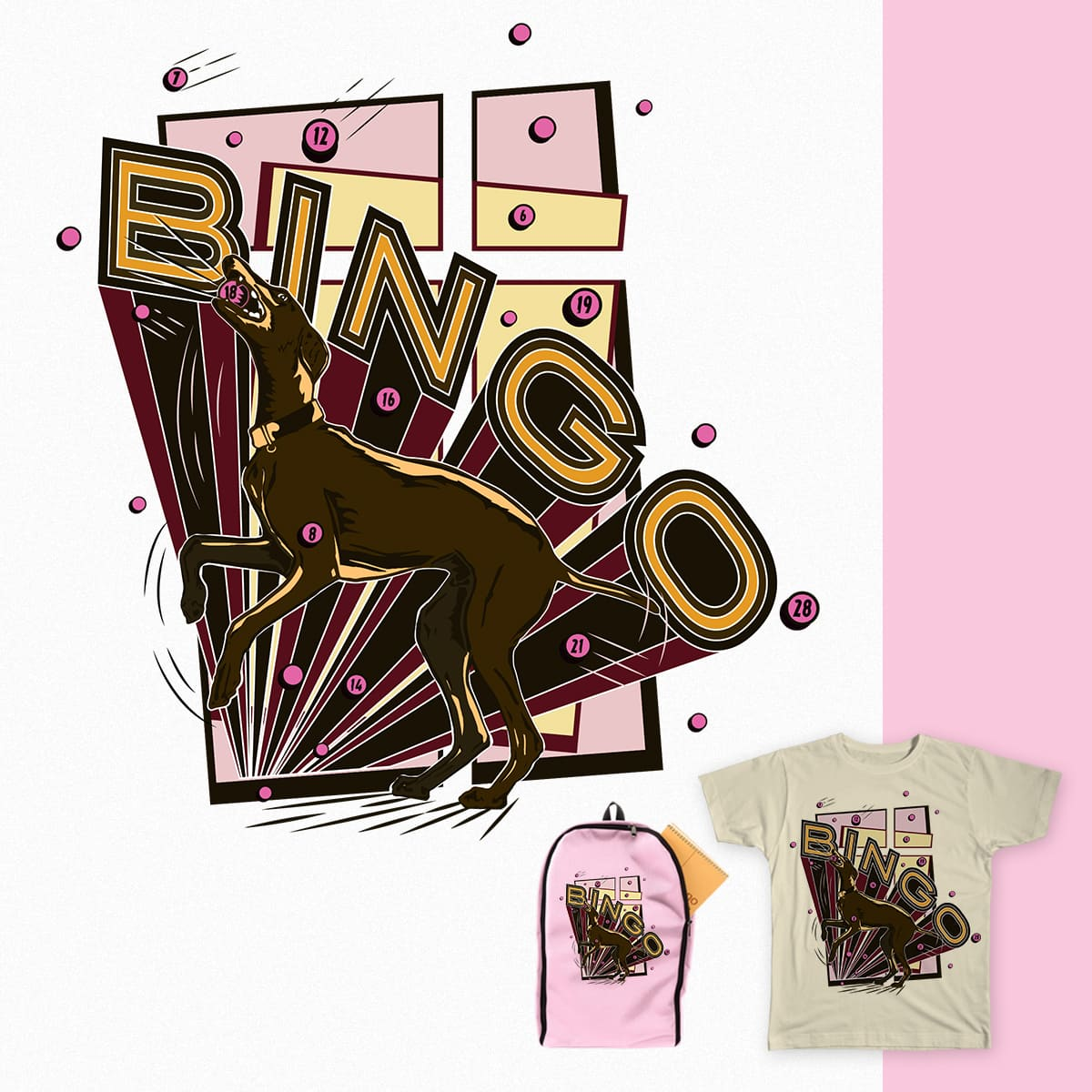 Bingo Ringo!! by DenVeegerd on Threadless