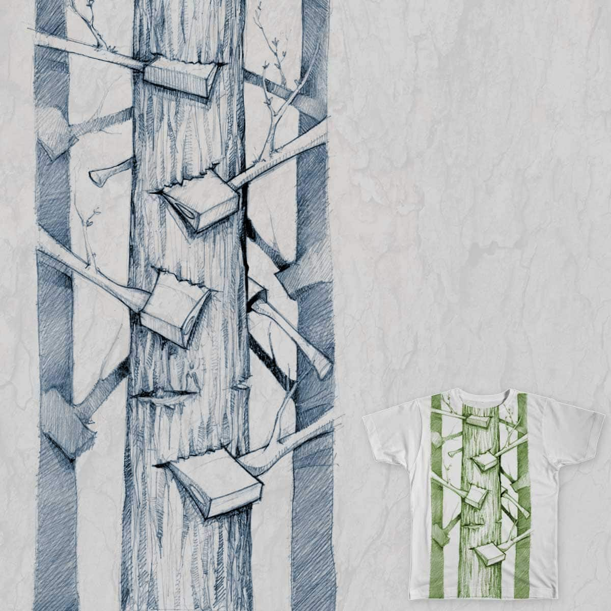 Trees by tronco22 on Threadless