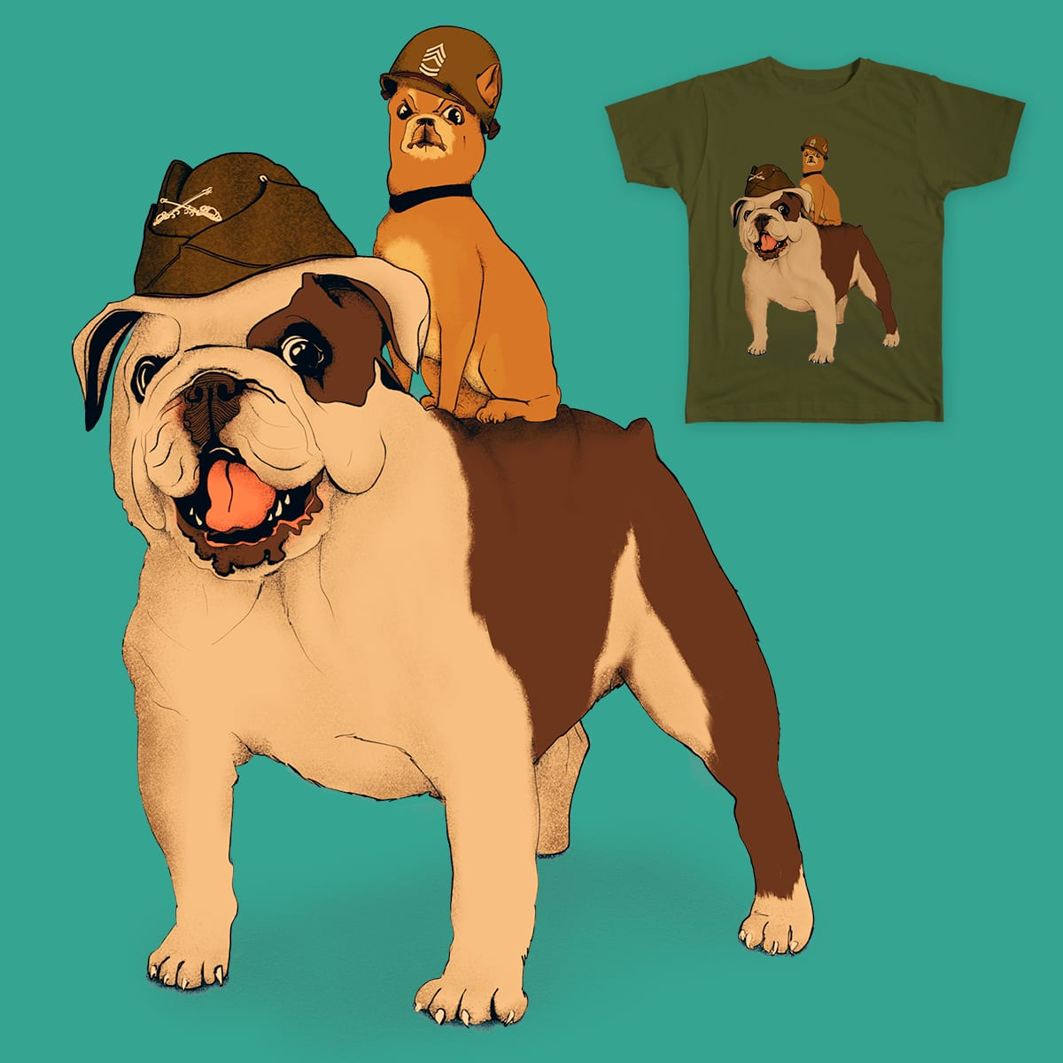 At Dawn... by Lopesco on Threadless