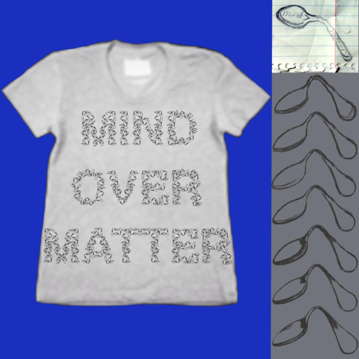 Mind Over Matter by deeceeaaa on Threadless