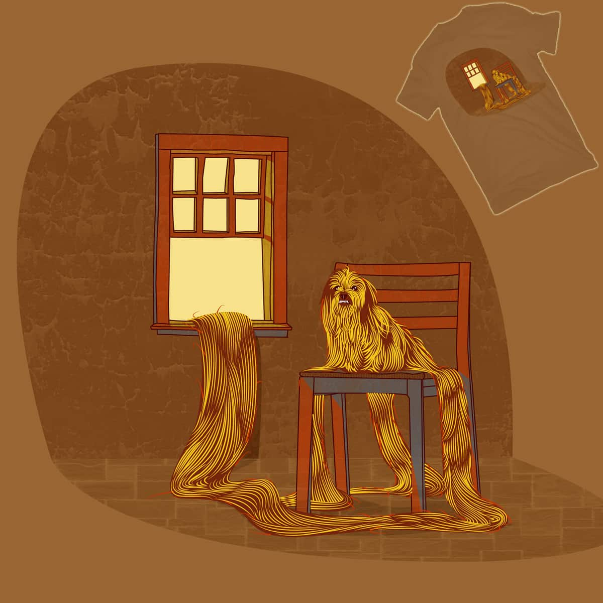 Ruffpunzel by PopeCastro on Threadless
