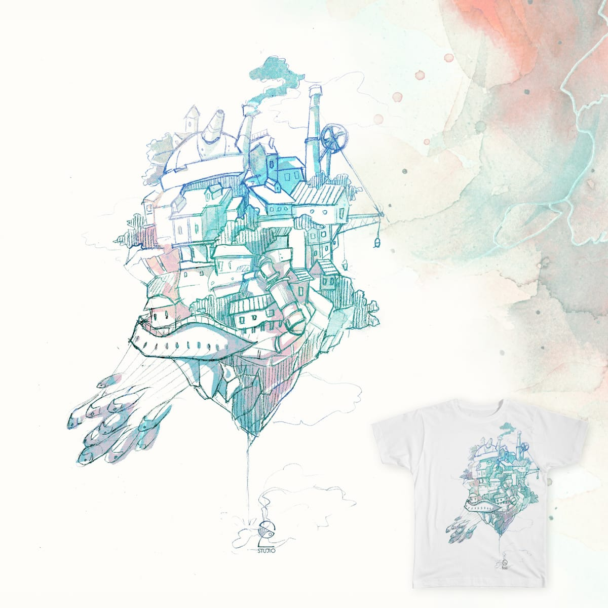 Home by solstudio on Threadless