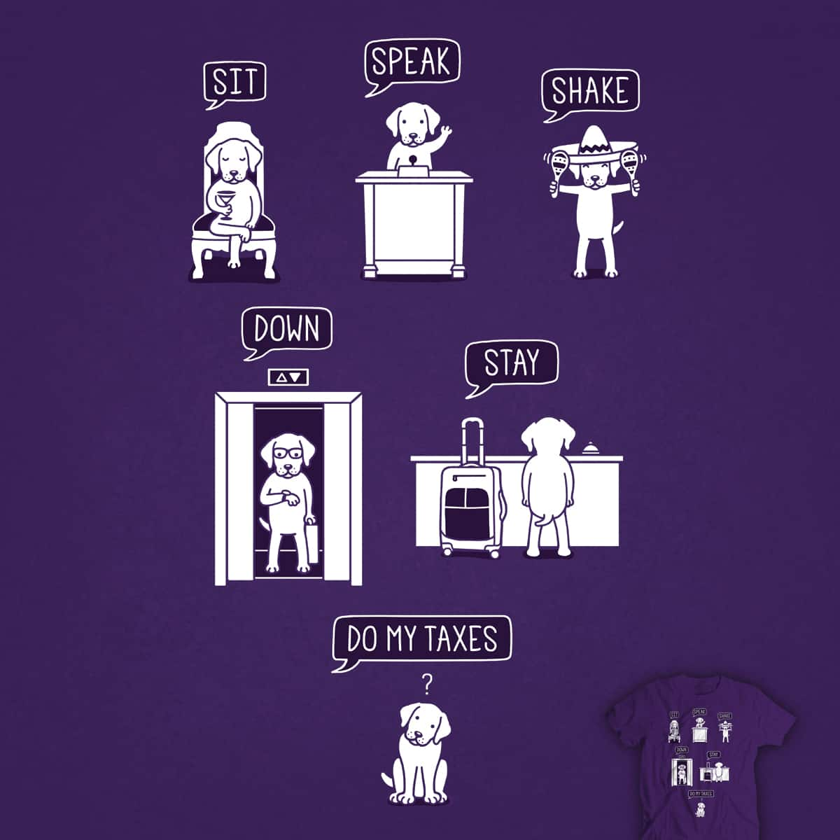 Common Commands by davidfromdallas on Threadless