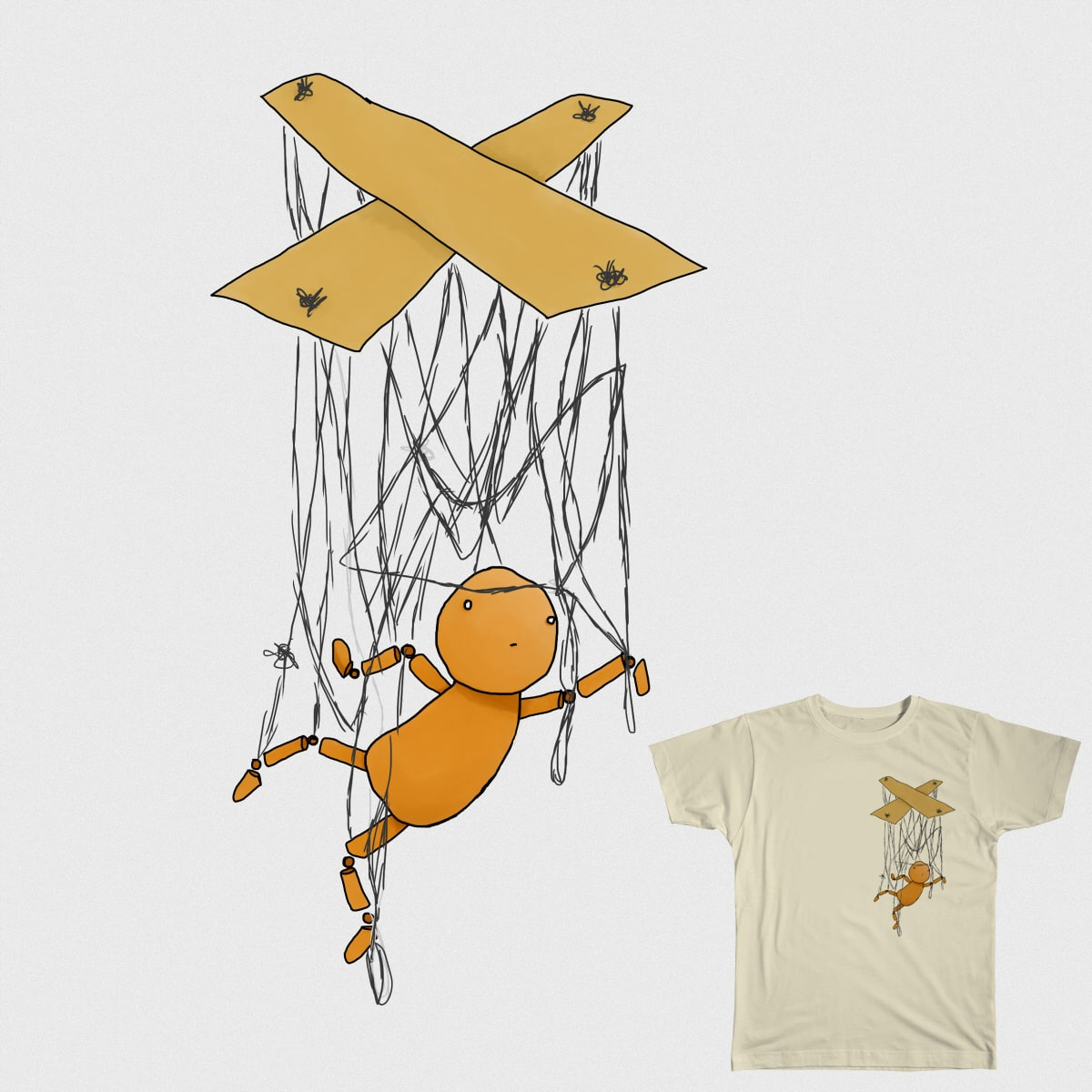 Twisted Marionette by Jubnuggets on Threadless