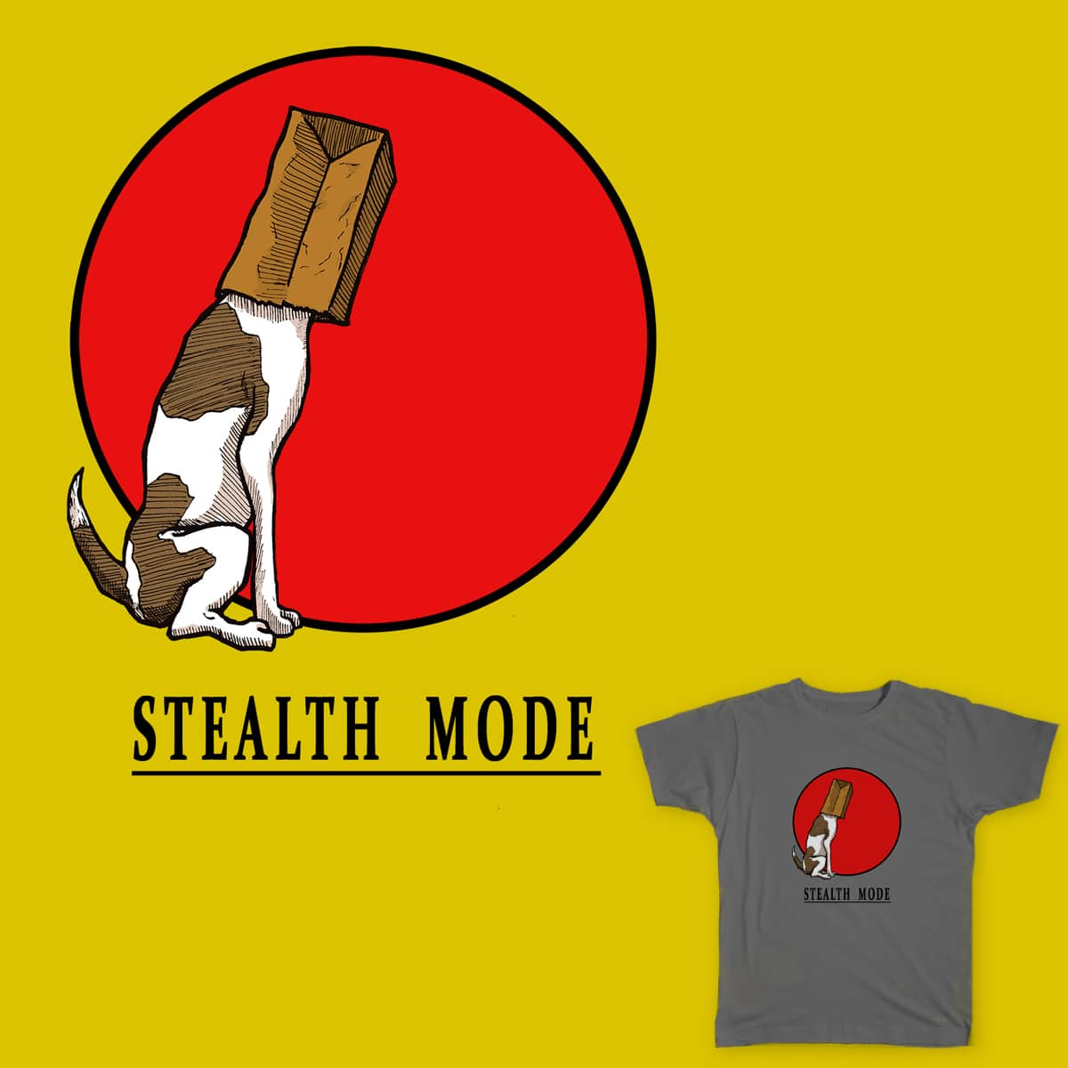 Stealth Mode by jaysmorales on Threadless