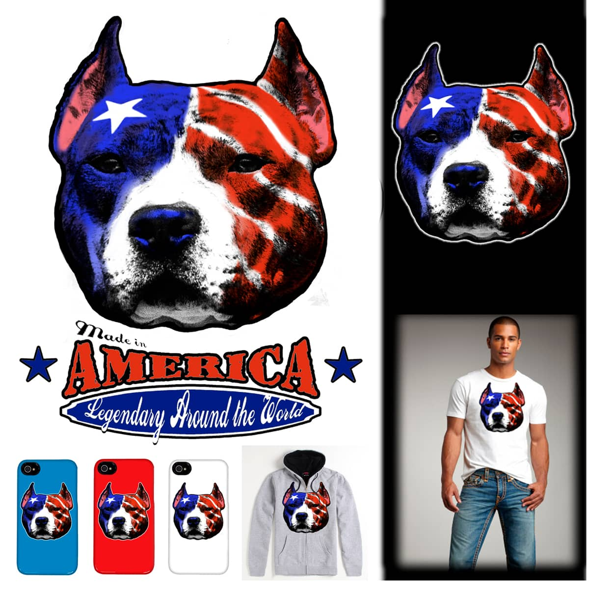 AMERICAN  MADE by JACKCRACK on Threadless