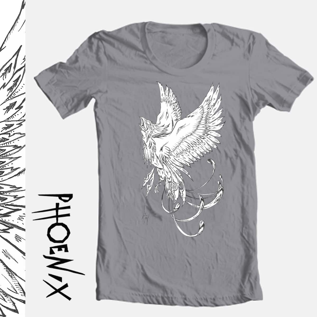 Phoenix by Ashley Tobin Design on Threadless