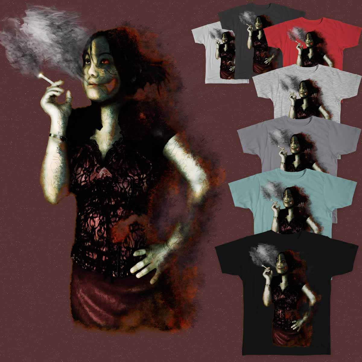 Smoking Hot by OliverDemers and goliath72 on Threadless
