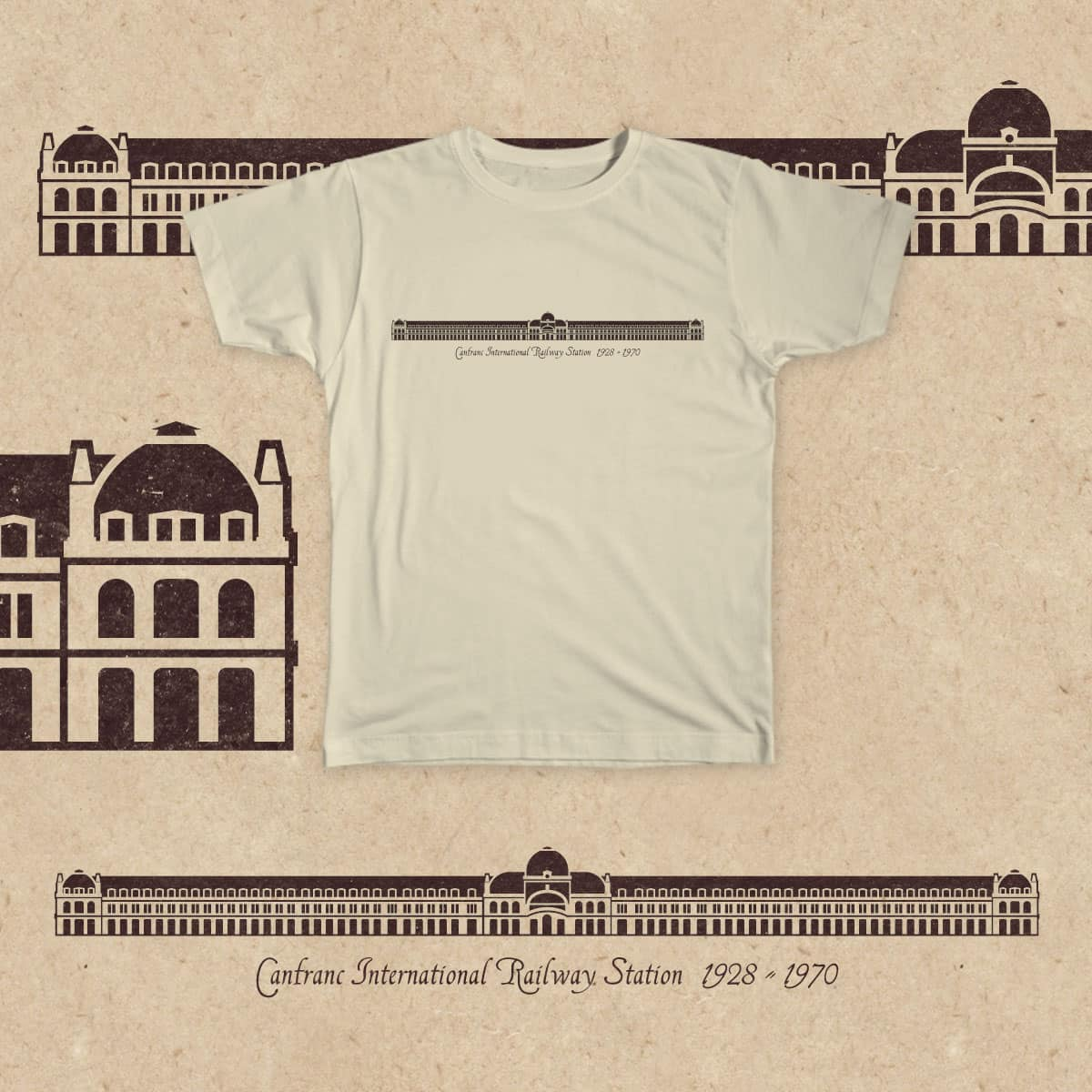 Canfranc International Railway Station by ikado on Threadless