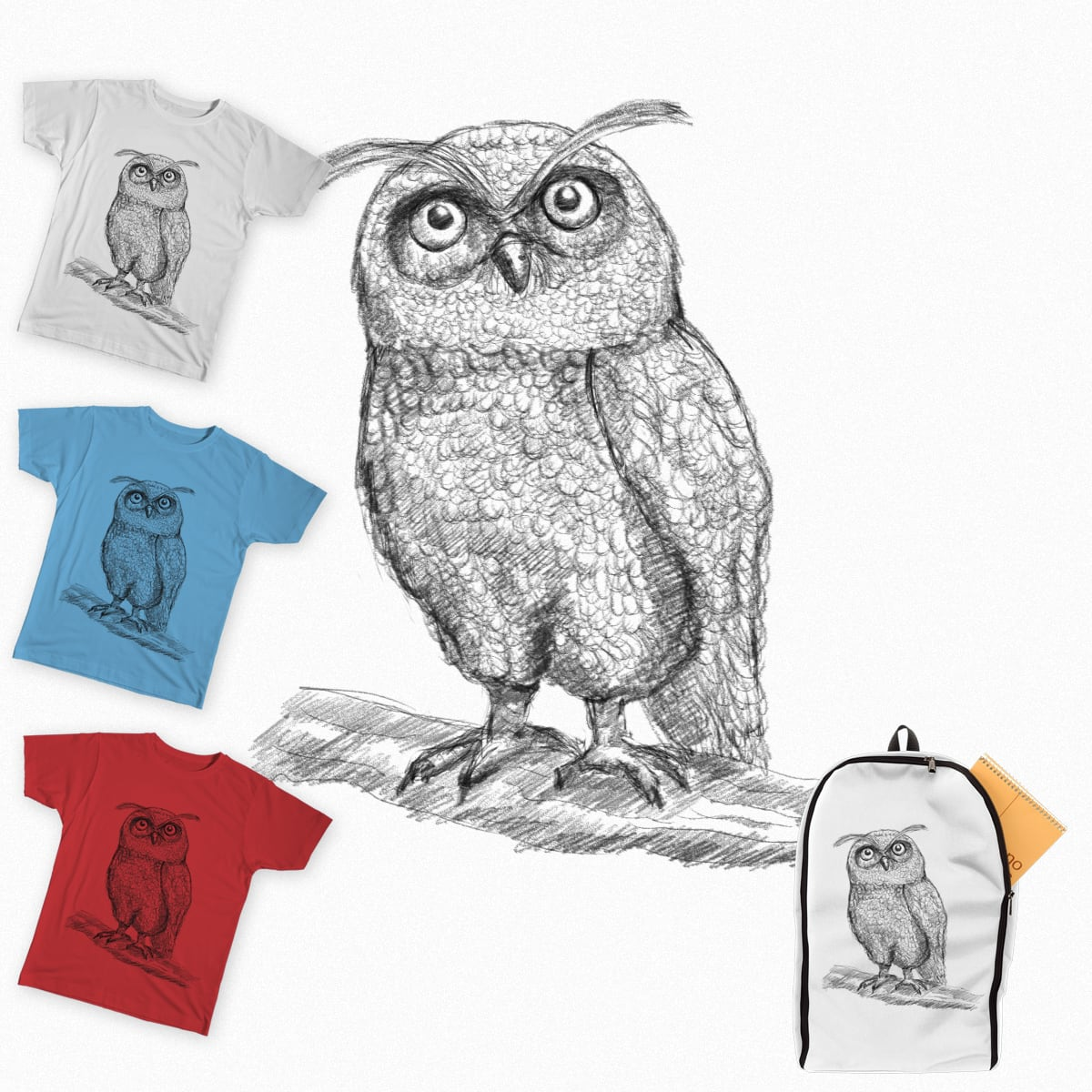 The Owl by hotamr on Threadless