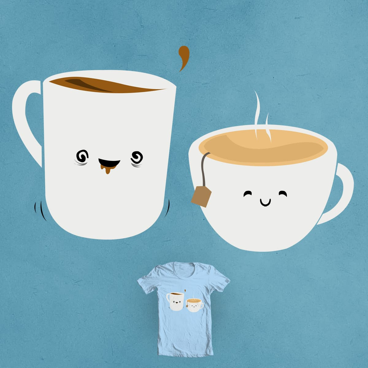 Morning Friends by Evan_Luza and Theo86 on Threadless