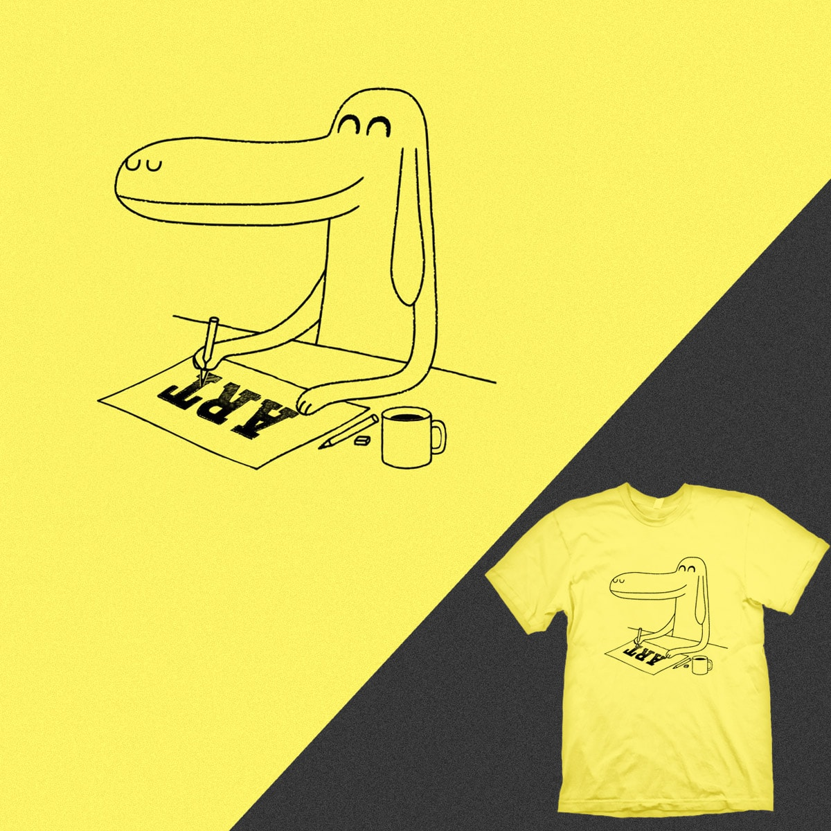 My Design is Anderdawg by kuli_grafis on Threadless