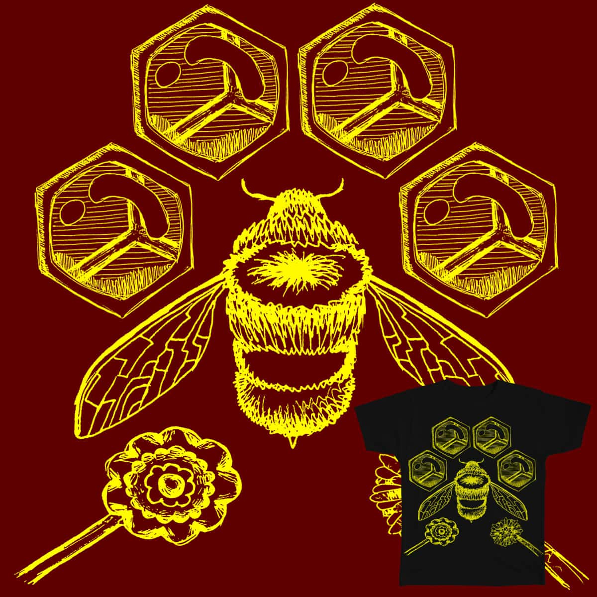 Bee Business by Dr_Donoh-onovan on Threadless