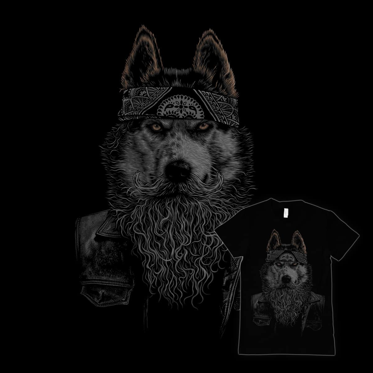 Husky Gang by aanmyers on Threadless