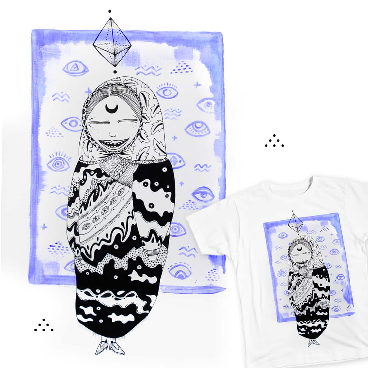 Mystic Matrioska by Valeria Di on Threadless