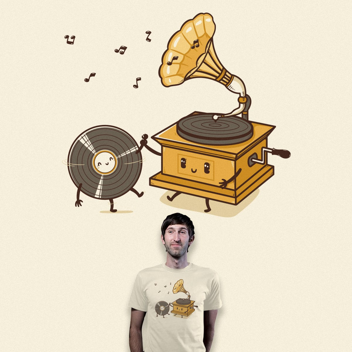 You spin me round and round by Robo Rat and tides on Threadless