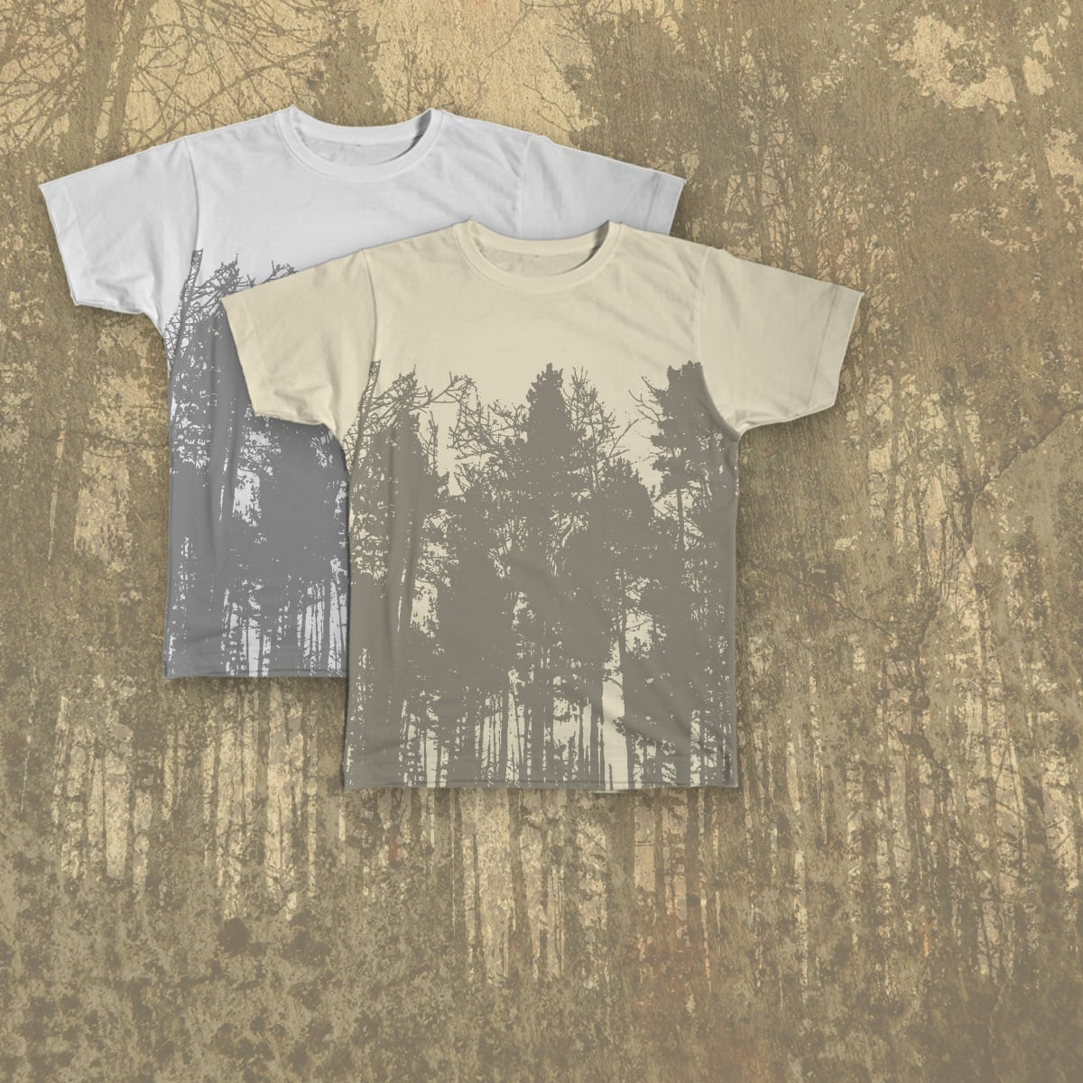 Into the Forest by Giacomo_Marangon and bombo332 on Threadless