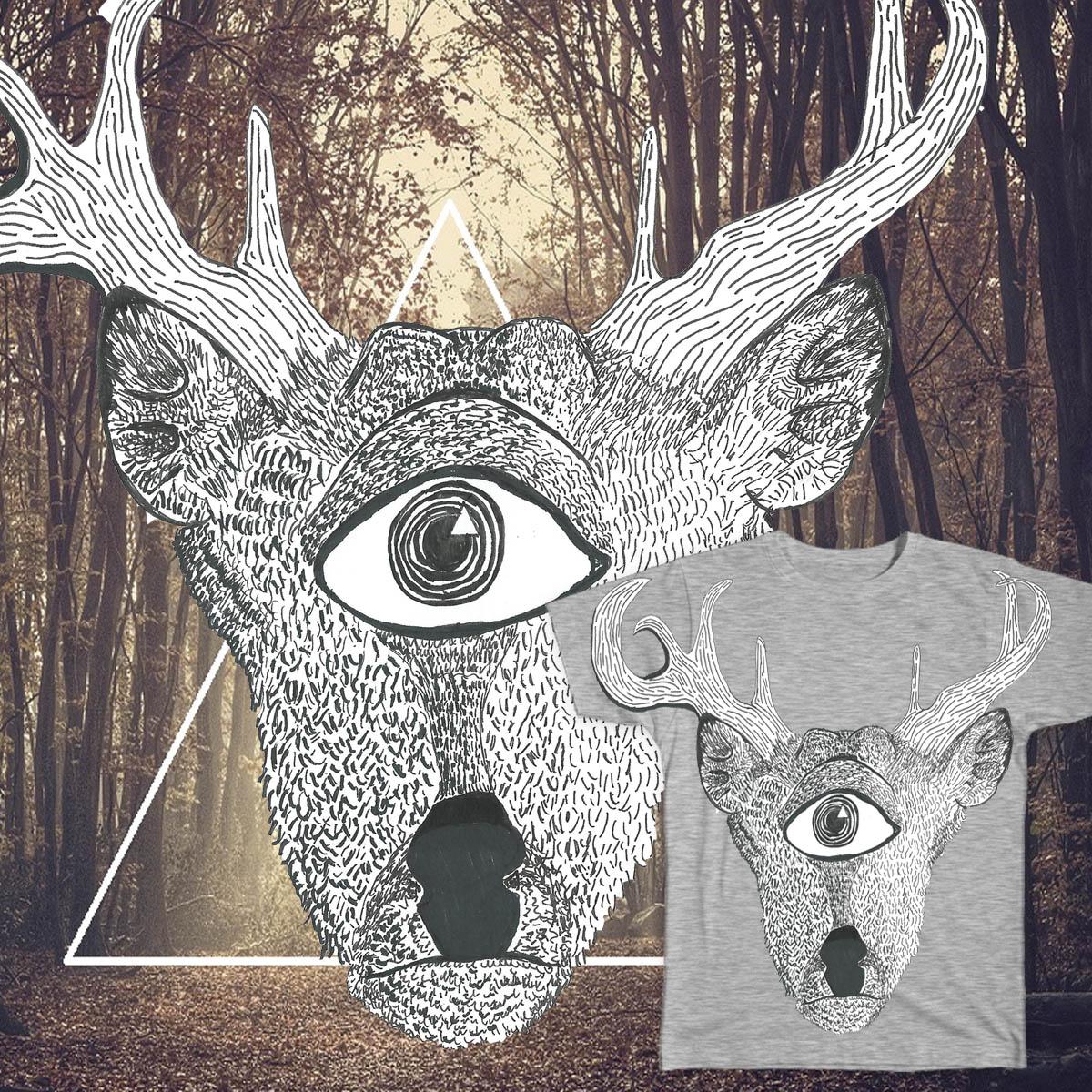 dEYEr by Dear Deer on Threadless