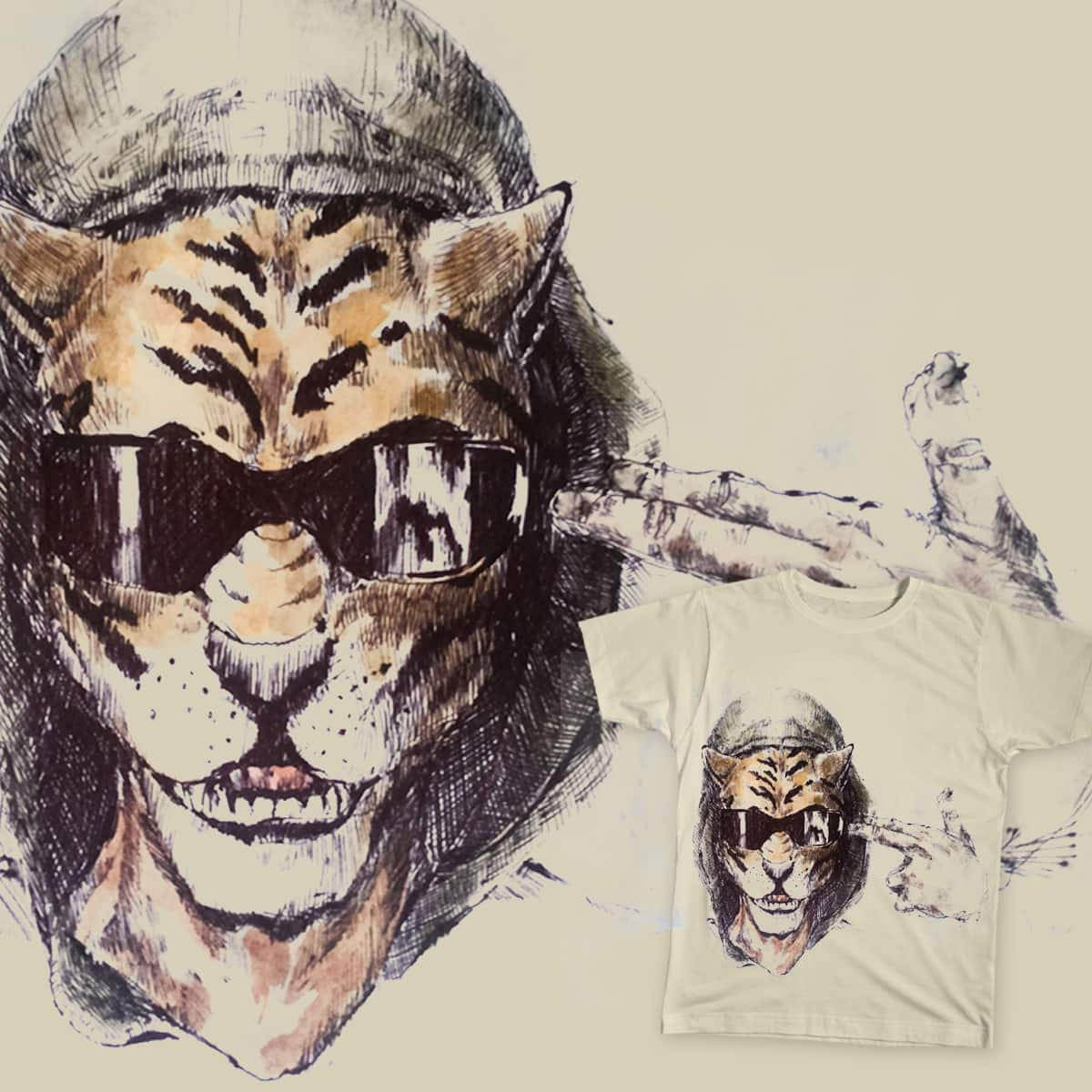 we are all animals by decun.devin on Threadless