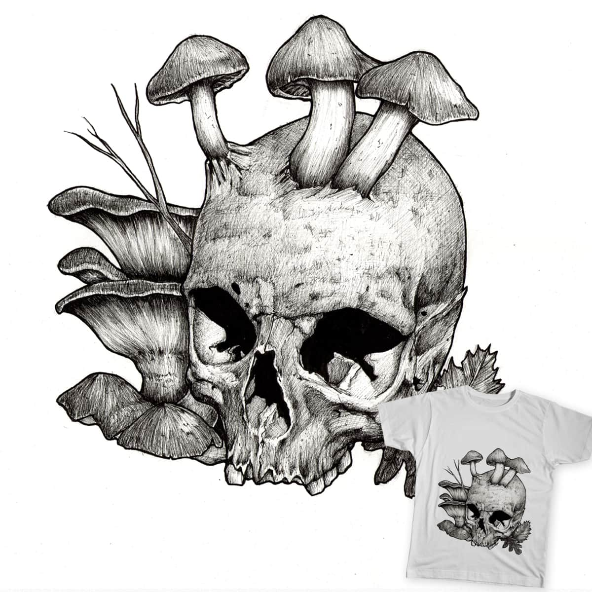 Mushrooms by ArnaudGomet on Threadless