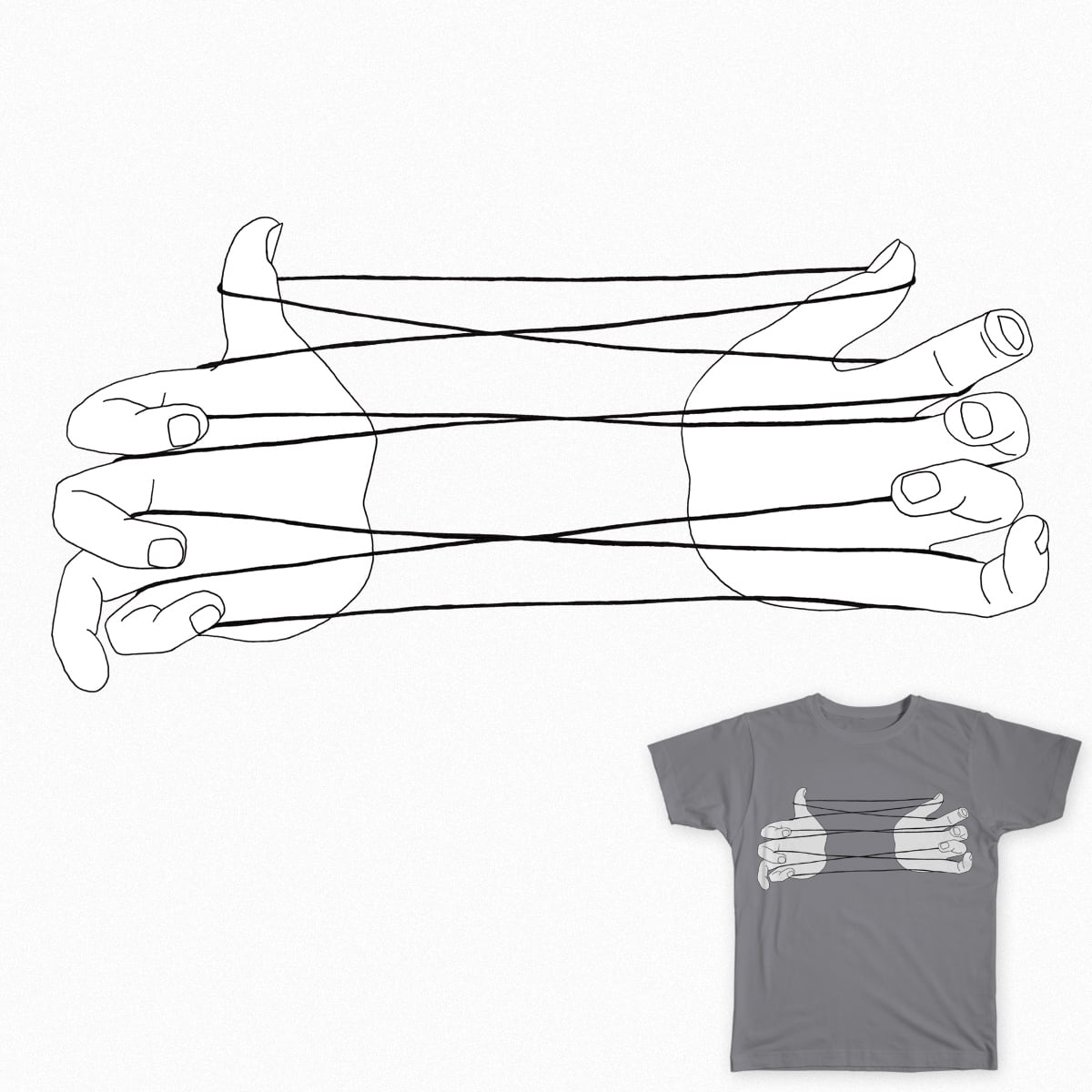 Cat's Cradle by UnusualSuspect on Threadless