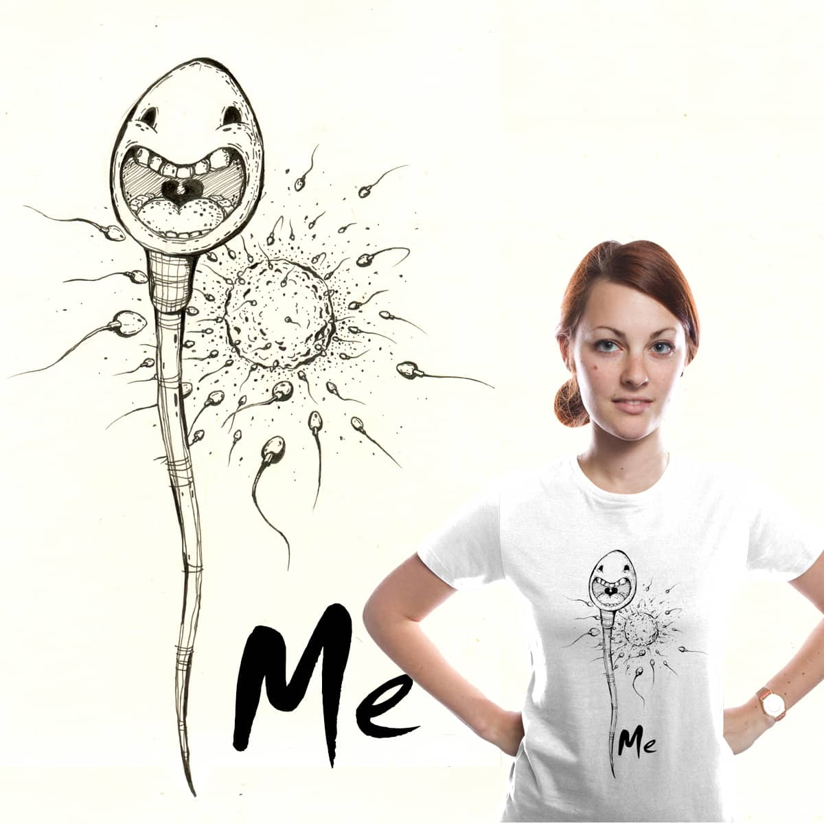Sperm by saeed hassani on Threadless