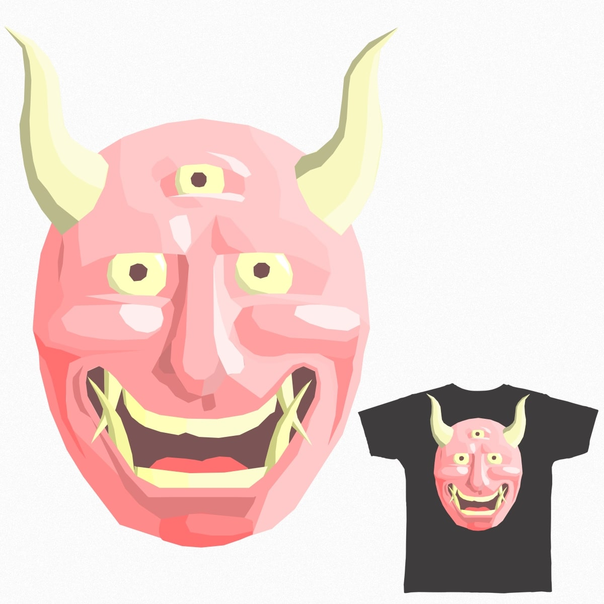 Oni by MMontejano and Bubbyton on Threadless