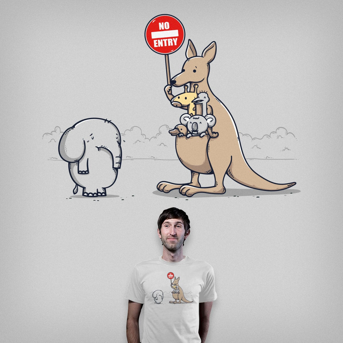 No Vacancy by Robo Rat and bandy on Threadless