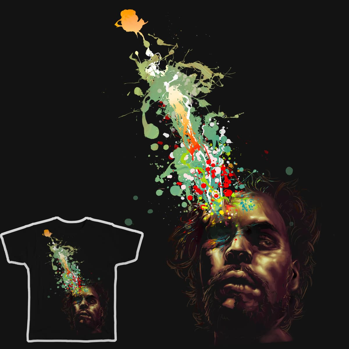 Right Brained by JABillustration and paulmjuno on Threadless