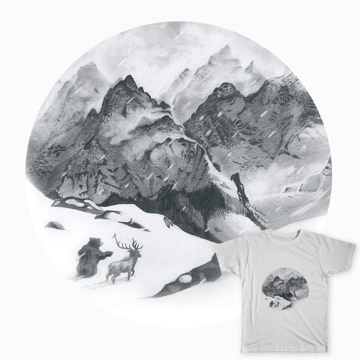 The Long Way Around by cranek on Threadless